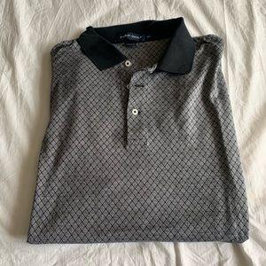 Ralph Lauren Size XL Golf Gray Shirt Cotton
